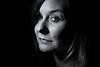 closeup (Zscherny) Tags: close up portrait porträt flash lightning beauty dish nikon walimex eye eyes black white bw blackwhite schwarzweis schwarzweiss soft low key reflector lightroom photo woman frau retrato ritratto