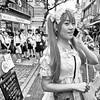 harajuku, japan (michaelalvis) Tags: women japan japanese tokyo harajuku asia monochrome bw blackandwhite candid portrait street streetlife citylife peoplestreet streetphotography fujifilm x70 travel