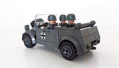 Oxford Kubelwagen (John C. Lamarck) Tags: lego oxford ww2 wwii war german army car volkswagen