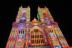 Lumiere London (ian_woodhead1) Tags: london lumiere westminster abbey night lights