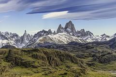 Cerro Fitz Roy (Valter Patrial) Tags: landscapes land mountains mountain montefitzroy montanhas montanha sky patagonia santacruzprovince elchalten santacruz argentina ar inexplore