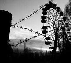 Chernobyl - Pripyat (tothfrantisek) Tags: ukraina chernobyl pripyat blackandwhite cityscape abandoned