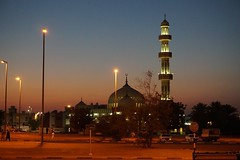 Mosque in Al Ain, UAE at dusk (Patrissimo2017) Tags: nighttime