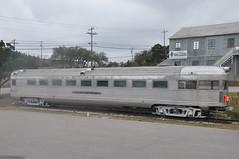 "CB&Q Observation 231 ""Silver Streak"" Side View (skytop45) Tags: chicago burlington quincy passenger observation train car denver zephry texas compound austin"