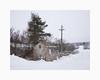 Arkhyttan 2018 (Karl Gunnarsson) Tags: dalarnaslän sweden se g80 panasonic20mmf17 arkhyttan storaskedvi säterskommun dalarna sverige winter snow overcast trees house countryside powerlines