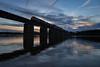 Seneca River Sunset (WillJordanPhoto) Tags: trains clemson norfolk southern greenville district charlotte atlanta