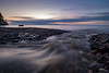 Meltwater (jarnasen) Tags: fuji xf1024mmf4 wideangle longexposure le water flow cold beach sky clouds stream landscape lake landskap sweden sverige scandinavia sunset nature outdoor stava vättern copyright järnåsen jarnasen geo geotag nisi ndfilter nd1000