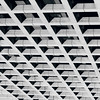 A matter of perspective (Flaquivurus) Tags: blackandwhite lines building architecture squares triangles geometry abstract repetition