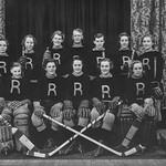 Jasper Place Rustlers hockey team of Edmonton, Alberta, Canadian Ladies Hockey Champions, 1932-1933 thumbnail