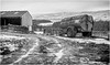 Holwick . (wayman2011) Tags: f2 fujifilmxf35mm lightroomfujifilmxpro1 wayman2011 bwlandscapes mono rural farms farmmachinery winter snow pennines dales teesdale holwick countydurham uk