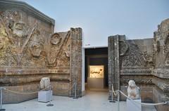 Facade of Qasr Mshatta, Umayyad, 8th cent.; Pergamon Museum, Berlin (4) (Prof. Mortel) Tags: germany berlin pergamonmuseum islamic umayyad mshatta