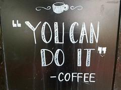 Chalkboard finds!! #Chalkboard #streetart #message #streetfinds #freedomwriters #mychalkboardcollection (Daniella Velings) Tags: freedomwriters mychalkboardcollection streetfinds chalkboard message streetart youcandoit jekunthet coffee coffeelover koffie positivemessage cityfinds