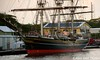The Stad Amsterdam (City of Amsterdam) is a three-masted clipper that was built in Amsterdam, the Netherlands, in 2000 at the Damen Shipyard. (Alexander Den Ouden) Tags: curacao tallship clippercityofamsterdam
