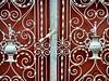 Mission Inn Door (Bennilover) Tags: grillwork wroughtiron door gate missioninn riverside california historic landmark red silver