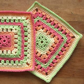 A Fresh Start Crochet Square 5 woo