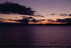 Frame 36.jpg (njcull) Tags: 35mmfilm canoneos33 e6 film kodak kodakeb3 kodakelitechrome100 laketaupo slide sunset taupo waikato newzealand lovetaupo