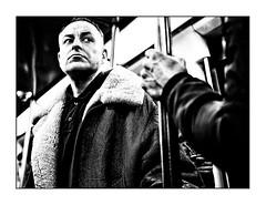 Moi fragile (benoitalluin) Tags: candid regard métro lille people bizarre subway street stphotographia