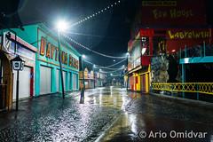 Rainy Amusement Night (Ario Omidvar Photographz) Tags: rot amusement park night wien vienna prater würstelprater rain wet urban city 1020