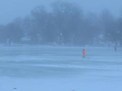 Fog n Melt 1-10-18 (deu49097) Tags: fog lake ice fishing