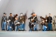 Royal Ontario Museum - Helios Lens Test (McFarlaneImaging) Tags: 402 8515 85mm apsc bokeh cmos canada civilwar collectible figure figurine glass helios indoor legacy lens miniature museum nex7mirrorless north ontario rom rifle royalontariomuseum russian soldier sony south soviet test toronto ussr uniform vintage f15 discoveron fotodiox adapter mount