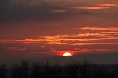 The sun (iLaura_) Tags: sunset tramonto sole sun sky clouds red cielo nuvole