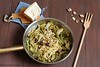 Tagliolini all'uovo con carciofi e pinoli 1 (Giovanna-la cuoca eclettica) Tags: pasta pastafattaincasa veg vegetables verdure stilllife stagioni healthy healthyfood food