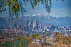 On A Clear Day (Michael F. Nyiri) Tags: losangeles cityscape city skyline cityoverlook kennethhahnstaterecreationarea southerncalifornia california building architecture
