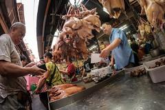 Chicken for sale (Goran Bangkok) Tags: bangkok thailand chicken vendor market food chinatown chinesenewyear culture