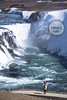 The famous Gullfoss waterfall in Iceland. (wrightontheroad) Tags: gullfoss gullfosswaterfall energy power waterfall iceland