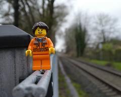 Rail. ing. (captain_joe) Tags: toy spielzeug 365toyproject lego minifigure minifig rail schiene