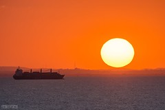 Sunset in Korbous Tunisia 2017 (seifracing) Tags: sunset tunisia 2017 seifracing spotting services emergency africa africain afrique soleil beauty beach tunisie tunis korbous