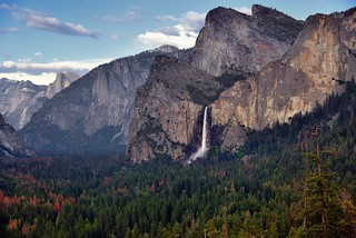 The Majestic Peaks of Cathedral Rock, Sentinel Point, Half Dome and Clouds Rest