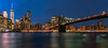 Brooklyn Bridge - Manhattan - Blue Hour (valecomte20) Tags: brooklynbridge nikon d5500 manhattan new york sunset bluehour sea bridge pont horizon night city longueexposion