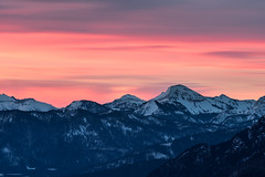 Sonnenaufgang über dem Tölzer Land (F!o) Tags: minolta 100mm 25 100mm25