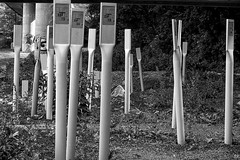 There are the cables? - Wo sind die Kabel? (b_kohnert) Tags: blackandwhite diesdas technik