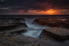North Narrabeen Sunrise 10 (RoosterMan64) Tags: australia landscape longexposure northnarrabeen northernbeaches rockpool sunrise sydney
