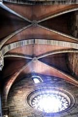 Blick nach oben (UlvargHS) Tags: bamberg dom kirche gewölbe decke licht lichteinfall fenster alt stein ulvarg sony