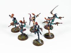 Harlequin Troupe (Uruk's Customs) Tags: games workshop warhammer wh40k eldar aeldari drukhari harlequins troupe master masque