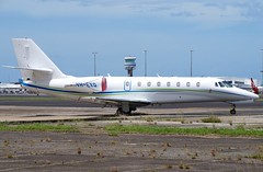 VH-EXQ  Cessna 680 Citation Sovereign (johnedmond) Tags: cairns queensland ybcs cessna citation sovereign bizjet australia aviation aircraft aeroplane airplane sel55210 55210mm ilce3500 sony