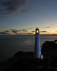 Castlepoint Sunset (Lyndon (NZ)) Tags: castlepoint 2018 wairarapa nz newzealand nature lighthouse coastal pacificocean sunset lowlight longexposure