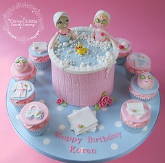 Spa Themed Cake (The Clever Little Cupcake Company) Tags: novelty cakes celebration