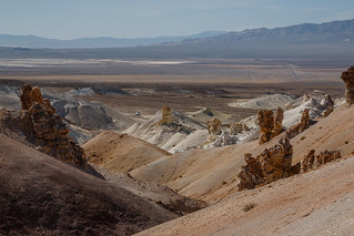 Eroded Badlands in Nevada
