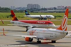 PR-GGF, PR-ONS, PR-YRK (renanfrancisco) Tags: gol golairlines gollinhasaéreas g3 avianca aviancabrasil aviancalinhasaéreas oceanair one o6 azul azulairlines azullinhasaereas azulbrazilianairlines ad azu boeing boeing737 737 737800 738 boeing737800 airbus a320 a320200 airbusa320 airbusa320200 gru gruairport sbgr guarulhosairport airport aeroporto aeropuerto airlines prggf prons pryrk