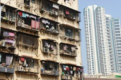 Neighbours (notFlunky) Tags: india christmas new year sub continent mumbai building rich poor architecture city bombay