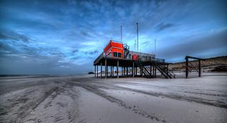 Fire department outpost, Petten aan Zee, The Netherlands.