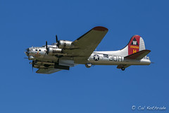 B-17 Flying Fortress (calkothrade2) Tags: aviationphotography acrobaticflying airdemonstrations airshows aircraft airplanes aviation bombers calkothrade fighters flyboys jetplane propplanes propeller warbird warbirds noseart fixedwing jetairplane propellerairplane civilianaircraft militaryaircraft koreanwar vietnamwar planes fighter prop engine aerialacrobatics airport eaa airventure wwiiaircraft navalaviation militaryplane airforce usaf transport flynavy bluesky takeoffs landings wwii eaaflyin oshkosh radialengine oshkoshwisconsin reenactors chrome