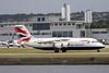 G-BZAZ British Aerospace 146 Avro RJ100 British Airways (pslg05896) Tags: gbzaz bae146 rj100 britishairways lcy eglc londoncity avro