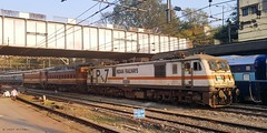 Triplet Locomotives (Amit C Patel) Tags: greatphotographers indianrailways wap4 wap7 rail railway railways