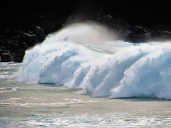 Storm surf (thomasgorman1) Tags: surf storm waves wave crashing beach canon shore pacific hawaii molokai island nature