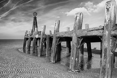 St Annes old pier 4 (explored Feb 18) (another_scotsman) Tags: pier stannes lancashire coast shore beach jetty